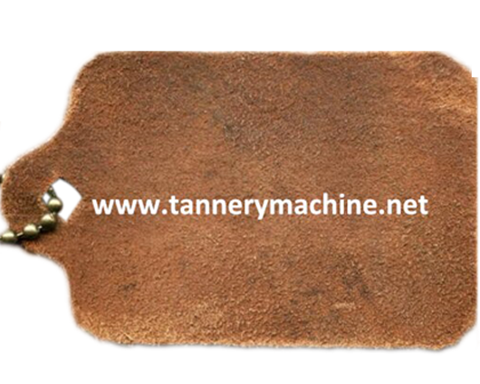 tannery machine