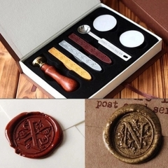 Harry Potter Hogwarts Seal-Wax Seal Stamp Kit-Sealing Wax Kits-Wax Seal Stamp Kits-Custom Wax Seal Gift Box Package-Wax Stamp Seal Set