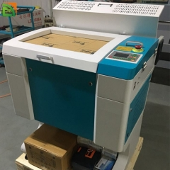 new model glass wood small co2 laser cutter for sale
