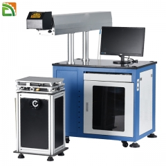cable color plastic glass Jewelry Natural materials laser marking machine manufacturers