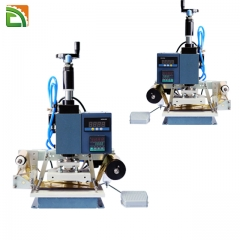 Hydraulic semi foil stamping machine for leather paper plastic